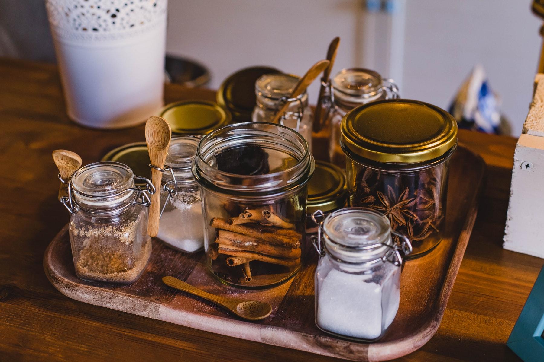 Socker, Honung, Kryddor