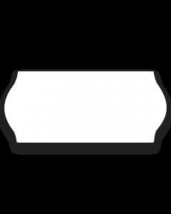 Prismärkningsetikett 26 x 12mm vit G1 6rl/fp
