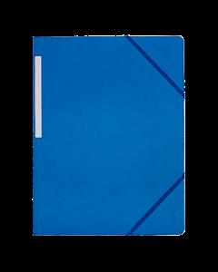 Snoddmapp A4 blå