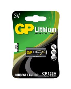 Batteri GP Litium CR123A
