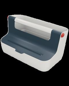 Förvaringsbox Leitz Cosy bärbar grå