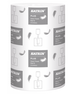 Torkrulle Katrin Plus S1 1-lag vit 12rl/fp
