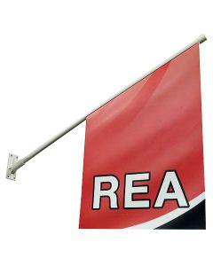 Fasadflagga Rea 40x40x60 cm