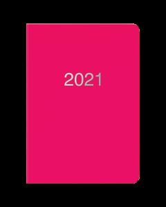 Almanacka Letts Dazzle A5 2021 rosa