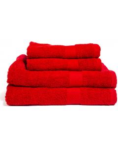 Frottéhandduk Queen Anne 50x70cm röd