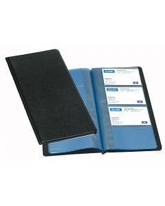 Visitkortsbok svart