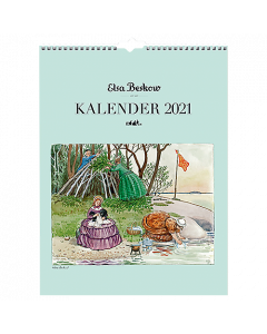 Alm. Burde Väggkalender Elsa Beskow