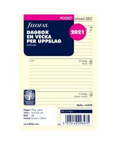 Dagbok Filofax Pocket 2021 v/u