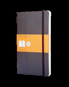 Anteckningsbok Moleskine Soft Large linjerad svart