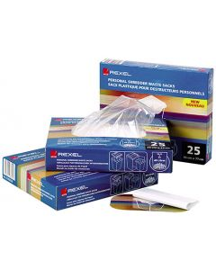 Avfallspåse Plast Rexel 100/Fp