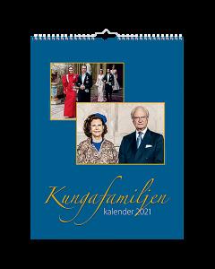 Alm. Burde Väggkalender Kungafamiljen
