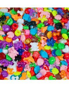 Plastpärlor mix 3350st/fp