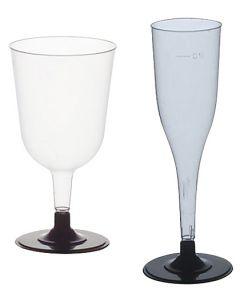 Plastglas Papstar 2-delade