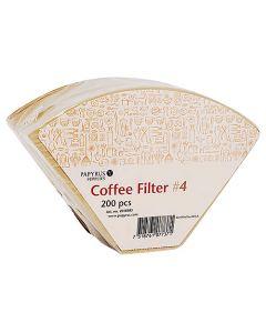 Kaffefilter 1X4 Oblekta 200/Fp