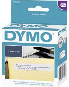 Etikett Dymo LW 19x51