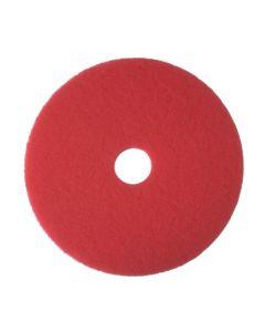 """Golvvårdsrondell 3M 15"""" 380mm röd"""