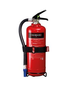 Pulversläckare Housegard 13A 89BC 2 kg röd