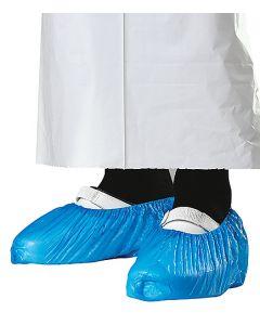 Skoskydd 30my blå L-XL latexfri 100st/fp