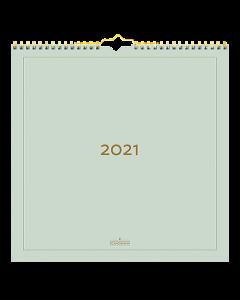 Alm. Burde Väggkalender Color