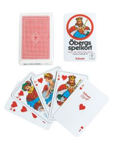 Spelkort Öbergs Poker Röd