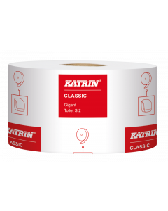 Toalettpapper Katrin Classic Gigant S 2-lags 200m 12rl/fp