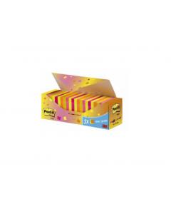 Post It Block Value-Pack 76X76 Neon 24Block/Förp
