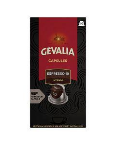 Kaffekapslar Gevalia Espresso 10 Intenso 10st/fp