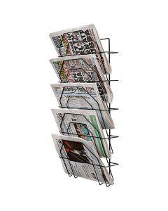Tidningsställ 5-fack