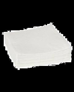 Tvättlapp vit 19X19 3-Lags Nyfiber 1500st/krt