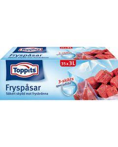 Fryspåse Toppits 3 Liter 35st/rle