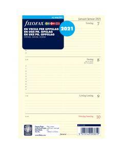 Dagbok Filofax A5 2021 v/u