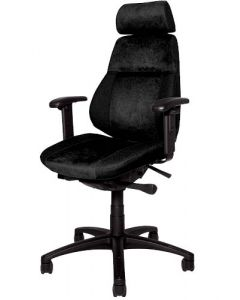 Kontorsstol Sverigestolen 818 svart