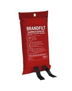 Brandfilt 120X180cm röd