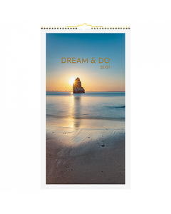 Alm. Burde Väggkalender Dream & Do