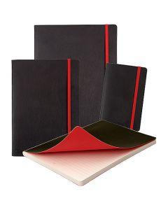 Anteckningsbok Oxford Black n' Red Business Journal Soft Cover/Hard Cover