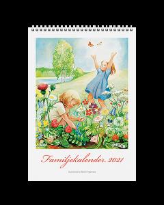 Alm. Burde Väggkalender Familjekalender Kerstin Frykstrand