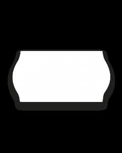 Prismärkningsetikett 22 x 12mm vit G1 7rl/fp