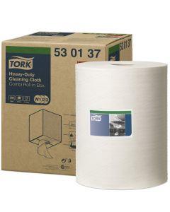 Rengöringsduk Tork W1/W2/W3 Premium vit 32cm x 106m 1rl/krt