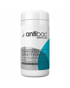 Ytdesinfektion Antibac våtservetter 70/fp