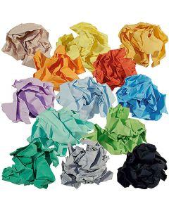 Färgat Papper Rainbow