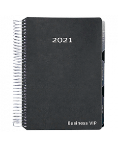 Alm. Burde Business VIP svart konstläder