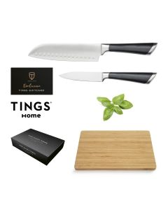Gåvokort Bonusgåva 8 Tings Home Knivset 2-del & Skärbräda