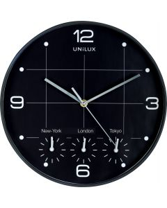 Klocka Unilux On Time Ø 30,5 cm (glas)