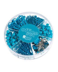 Kontorsset Candy Colours turkos