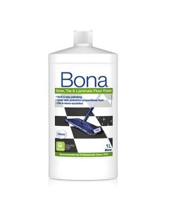 Golvpolish Bona Polish för klinker & laminat blank 1L