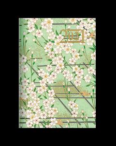 Almanacka Letts Japanese Paper Mini 2021 mintgrön