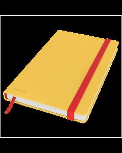 Anteckningsbok Leitz Cosy A5 linjerat gul