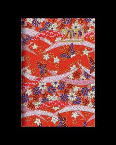 Almanacka Letts Japanese Paper Mini 2021 röd