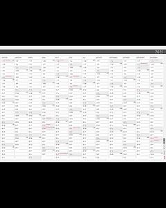 Alm. Burde Väggblad Elegant 2021 980x680 mm