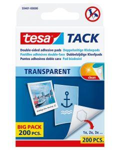 Fästkuddar Tesa Tack transp.72st/fp